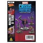 Asmodee Editions Marvel Crisis Protocol: Magneto and Toad Character Pack
