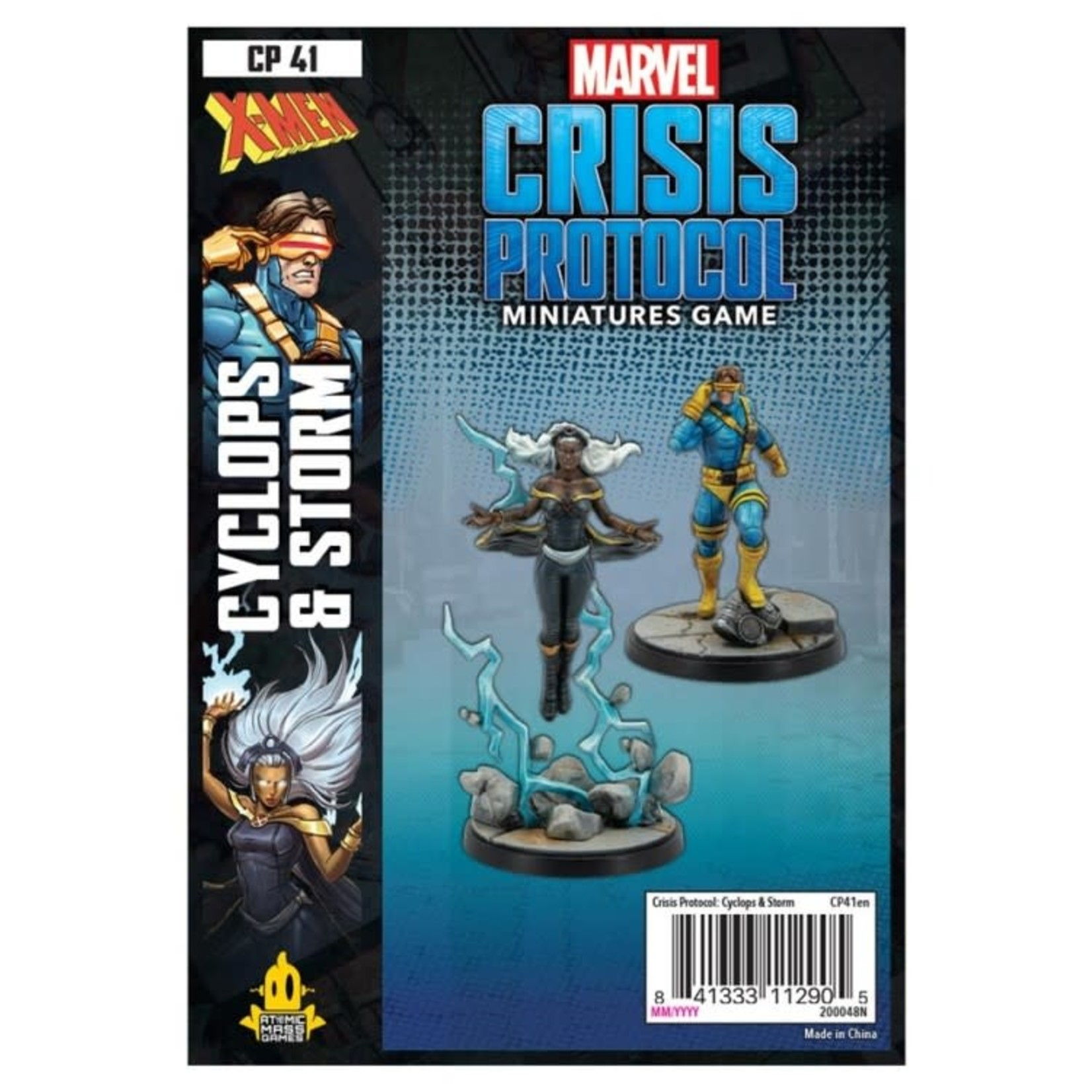 Asmodee Editions Marvel Crisis Protocol: Cyclops and Storm Character Pack
