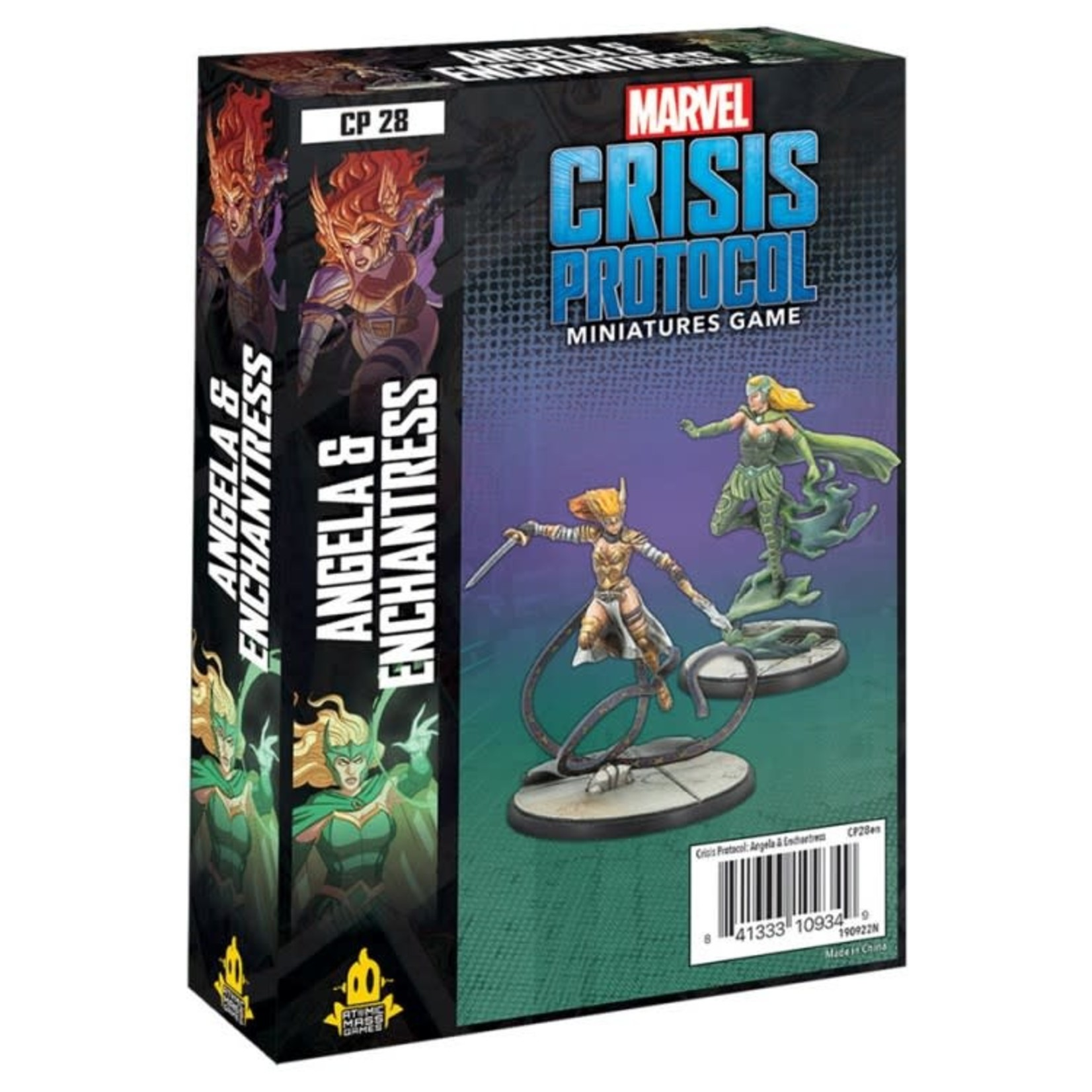 Asmodee Editions Marvel Crisis Protocol: Angela and Enchantress Character Pack