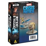 Asmodee Editions Marvel Crisis Protocol: Crystal and Lockjaw Character Pack