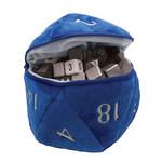 Ultra Pro Ultra Pro d20 Plush Dice Bag : Blue