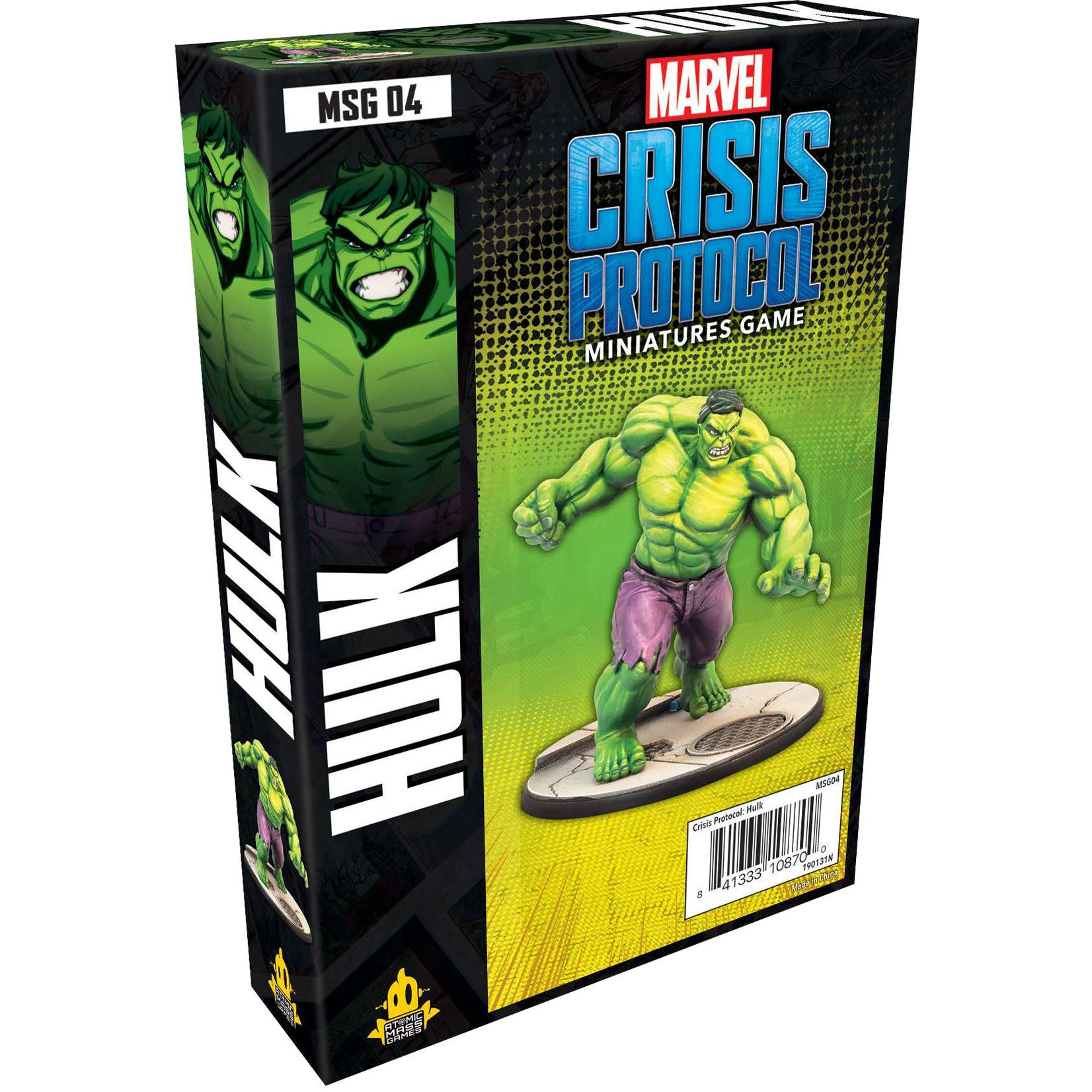 Asmodee Editions Marvel Crisis Protocol:Hulk Character Pack