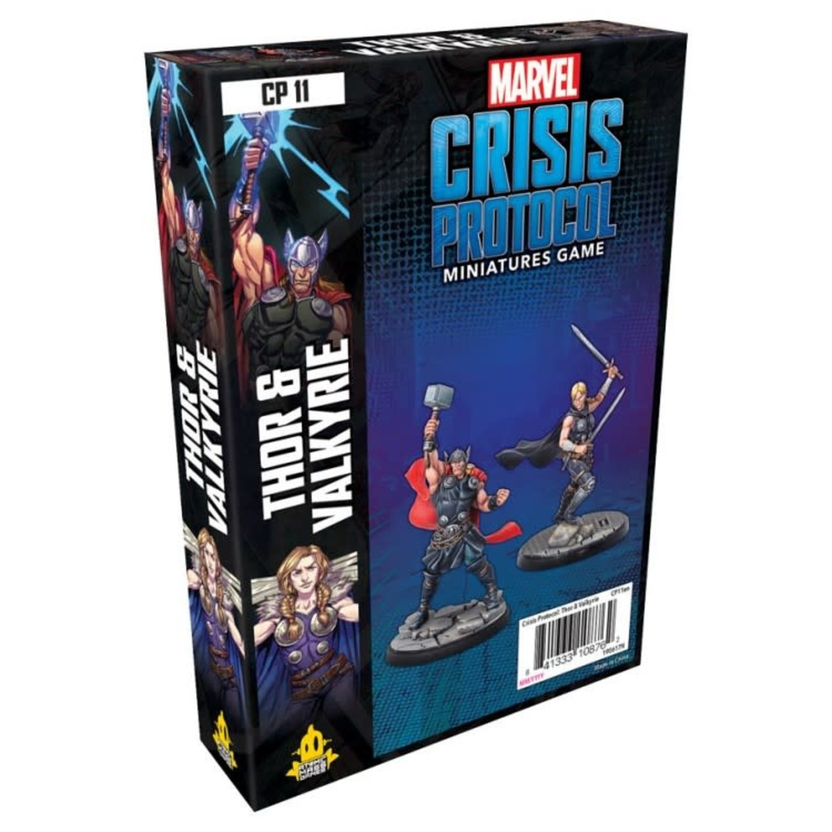 Asmodee Editions Marvel Crisis Protocol: Thor and Valkyrie Character Pack