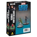 Asmodee Editions Marvel Crisis Protocol: Vision and Winter Soldier Character Pack