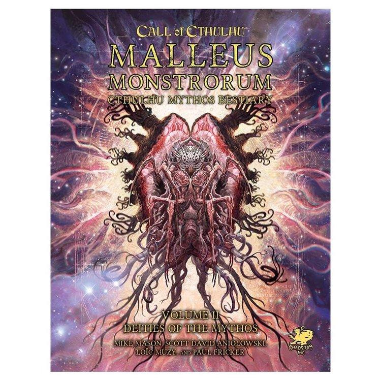 Chaosium Call of Cthulhu: Malleus Monstrorum: Cthulhu Mythos Bestiary Slipcase Set