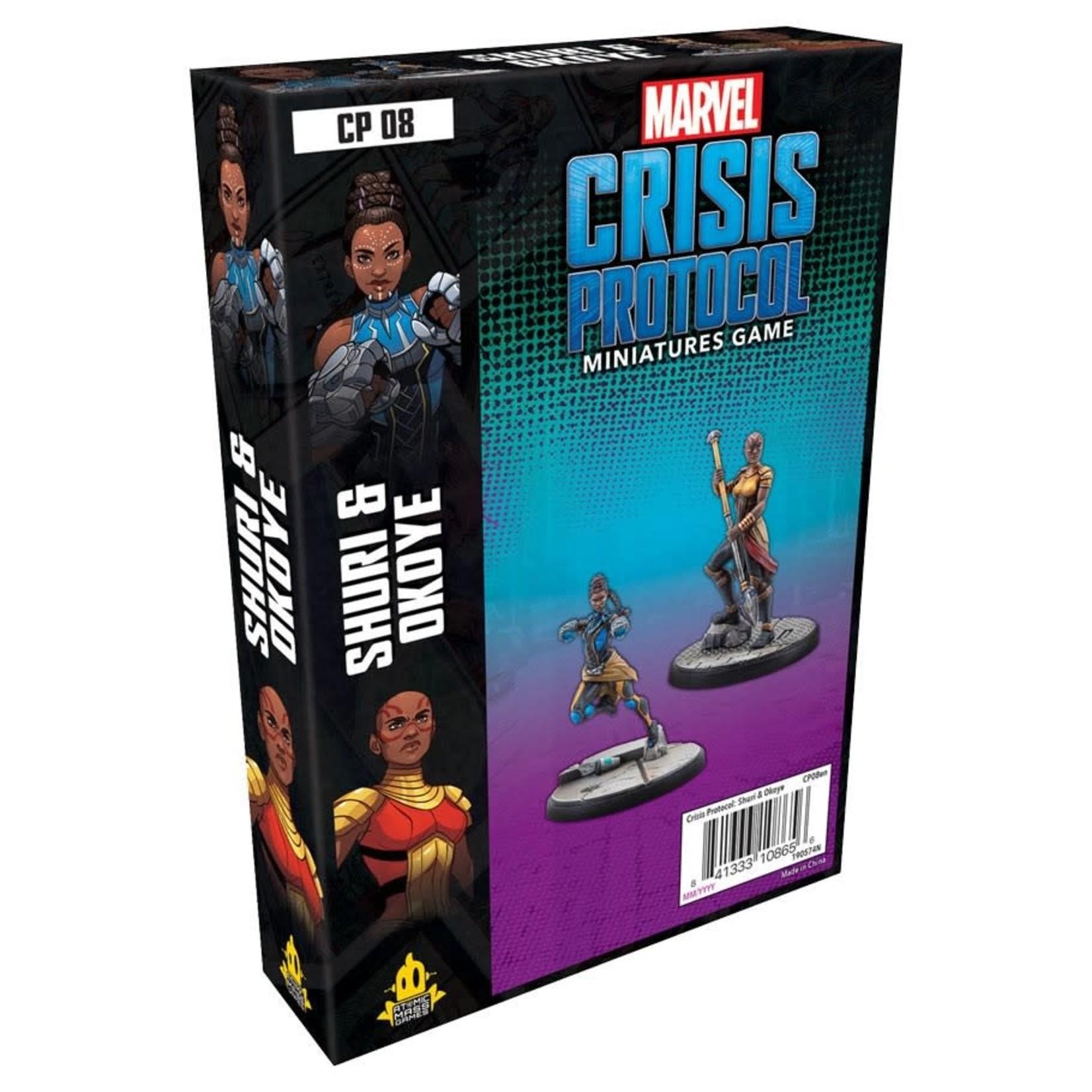 Fantasy Flight Games Marvel Crisis Protocol Shuri and Okoye Character Pack