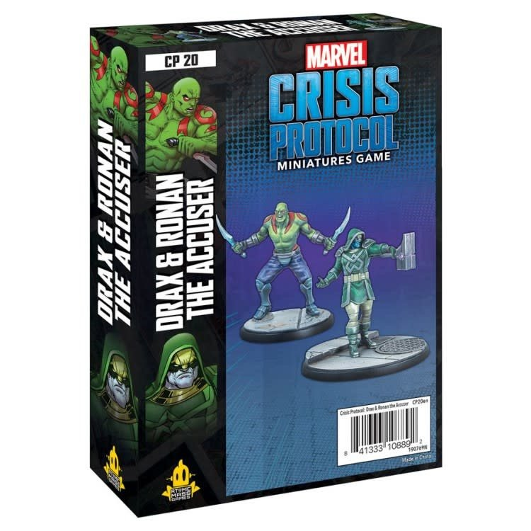 Asmodee Editions Marvel Crisis Protocol: Drax and Ronan the Accuser Pack