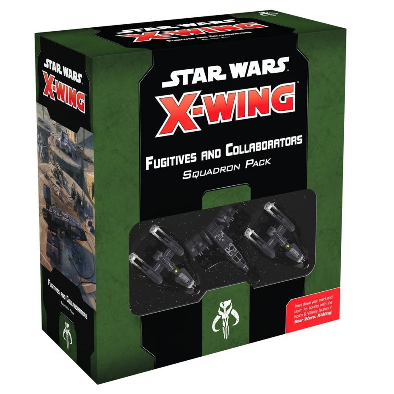Fantasy Flight Games Star Wars X-Wing 2nd Edition: Fugitives and Collaborators