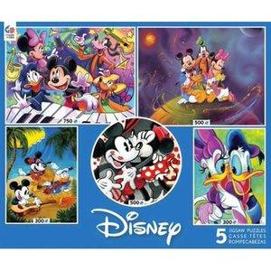 ceaco Ceaco - Disney 5 in 1 Multipack Jigsaw Puzzle
