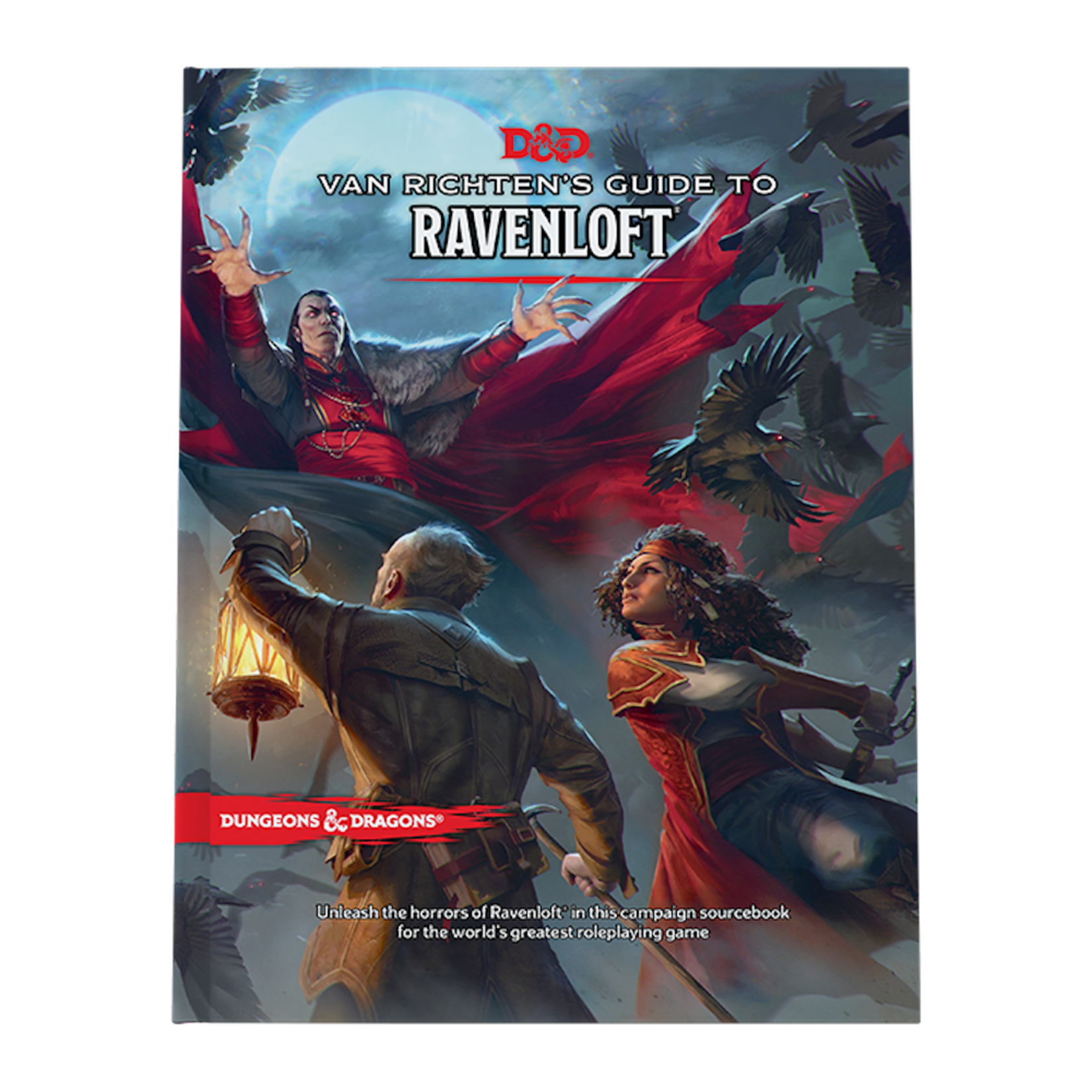 Wizards of the Coast Dungeons and Dragons 5th Edition: Van Richten's Guide to Ravenloft (Preorder)
