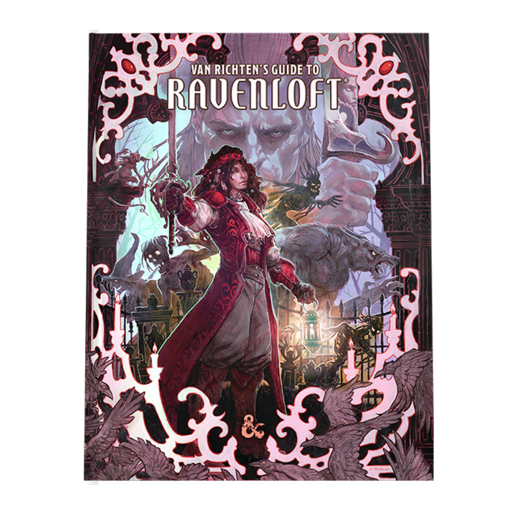 Wizards of the Coast Dungeons and Dragons 5th Edition: Van Richten's Guide to Ravenloft ALTERNATE ART COVER (Preorder)