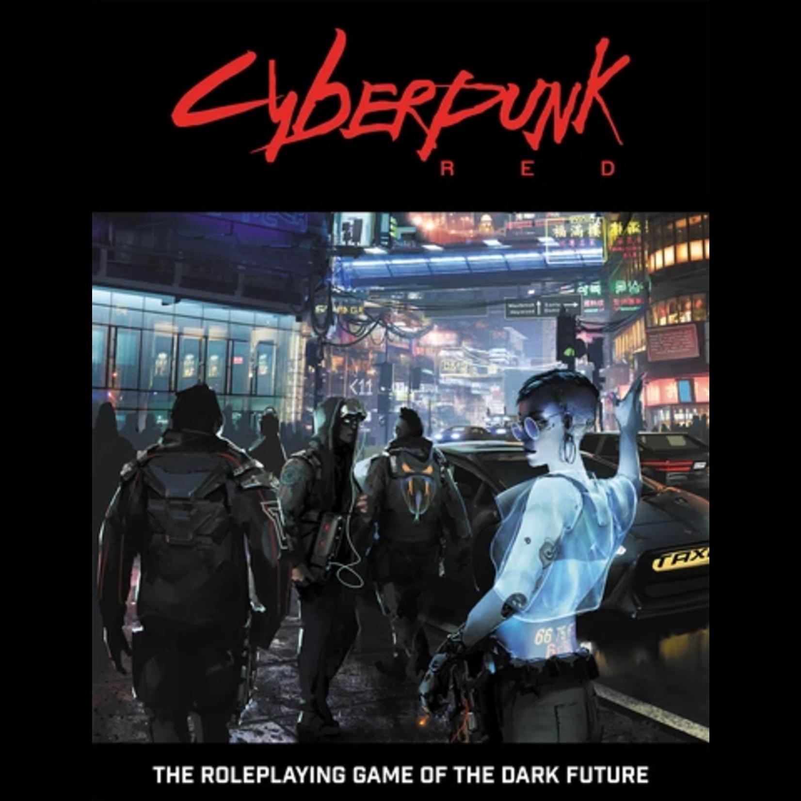 R. TALSORIAN GAMES Cyberpunk Red Core Rulebook