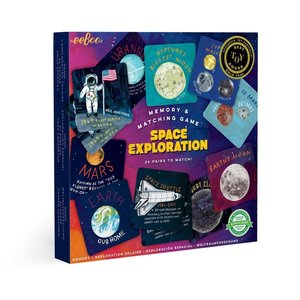 eeBoo Space Exploration - Memory Matching Game