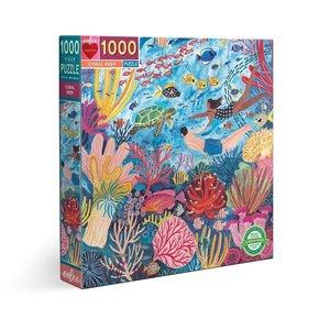 eeBoo eeBoo Puzzle: Coral Reef 1000 pc