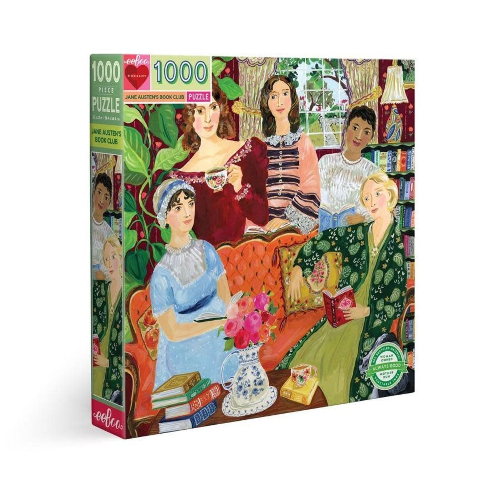 eeBoo eeBoo Puzzle: Jane Austen's Book Club 1000 pc
