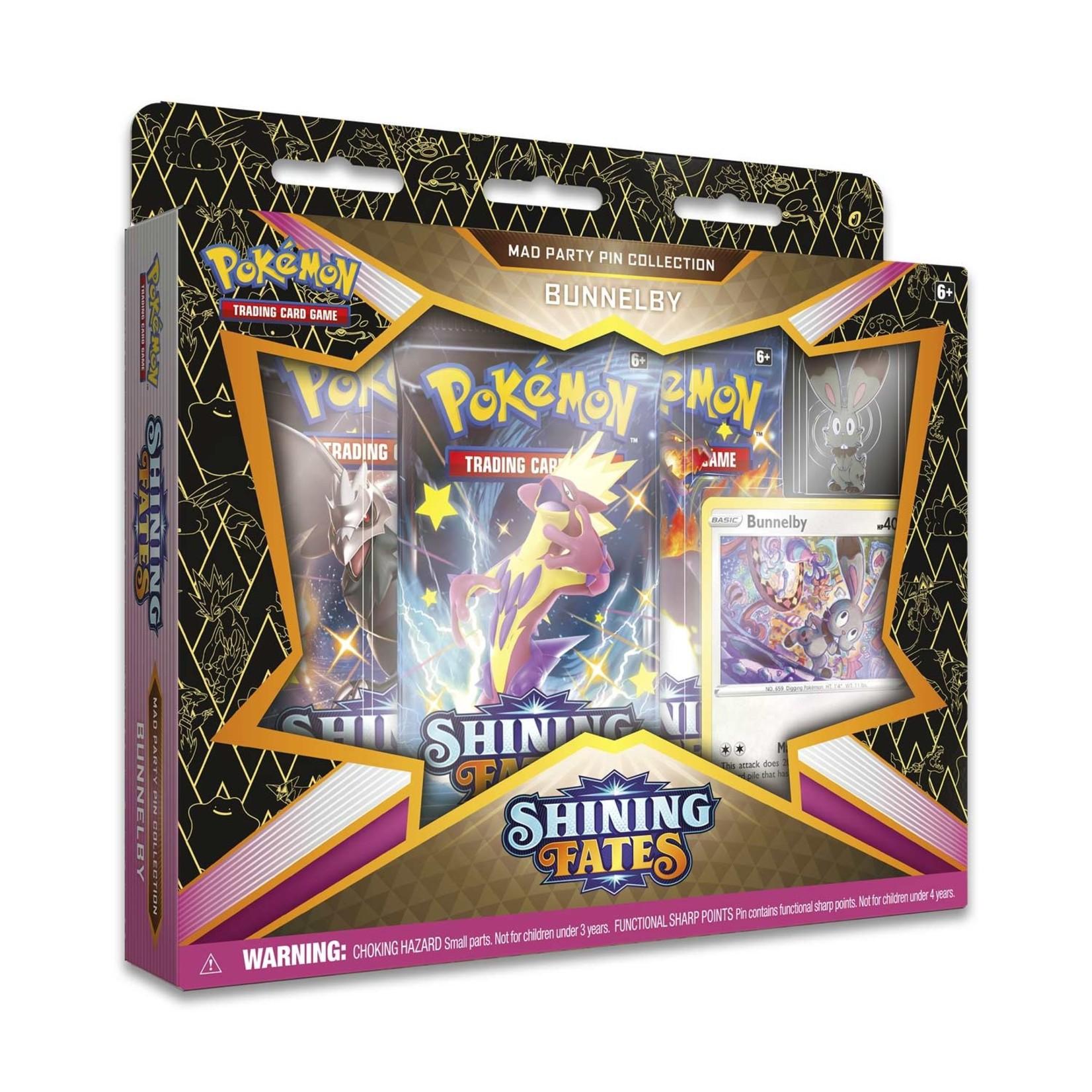 Pokemon International Pokémon TCG: Shining Fates Mad Party Pin Collection (1 of 4)