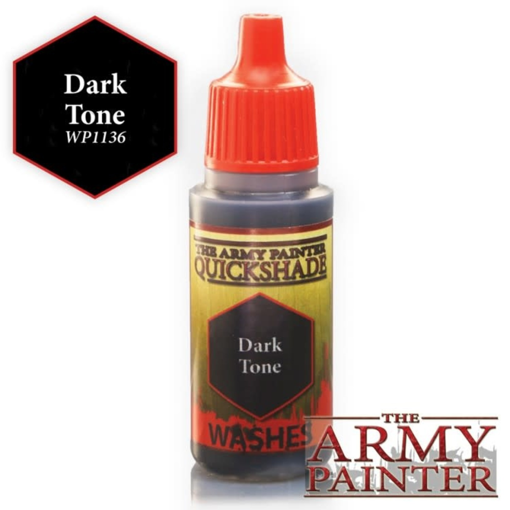 The Army Painter Warpaints Quick Shade: Dark Tone Ink 18ml