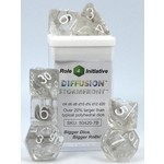 Roll 4 Initiative Polyhedral Dice: Diffusion Stormfront - Set of 7
