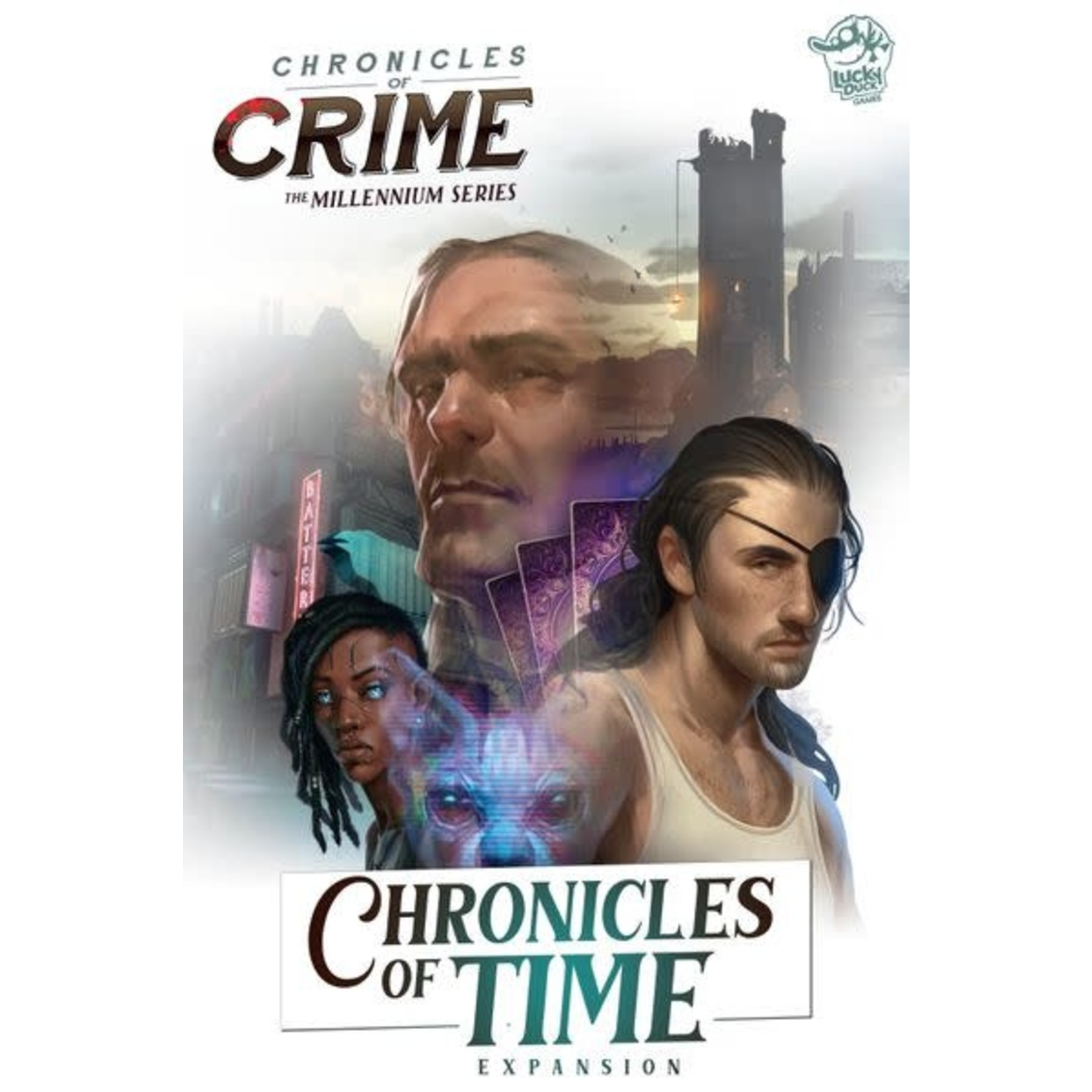 Lucky Duck Games Chronicles of Crime: Chronicles of Time