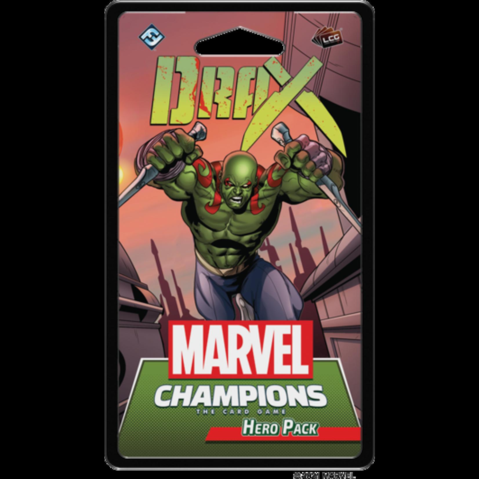 Fantasy Flight Games Marvel Champions Living Card Game: Drax Hero Pack
