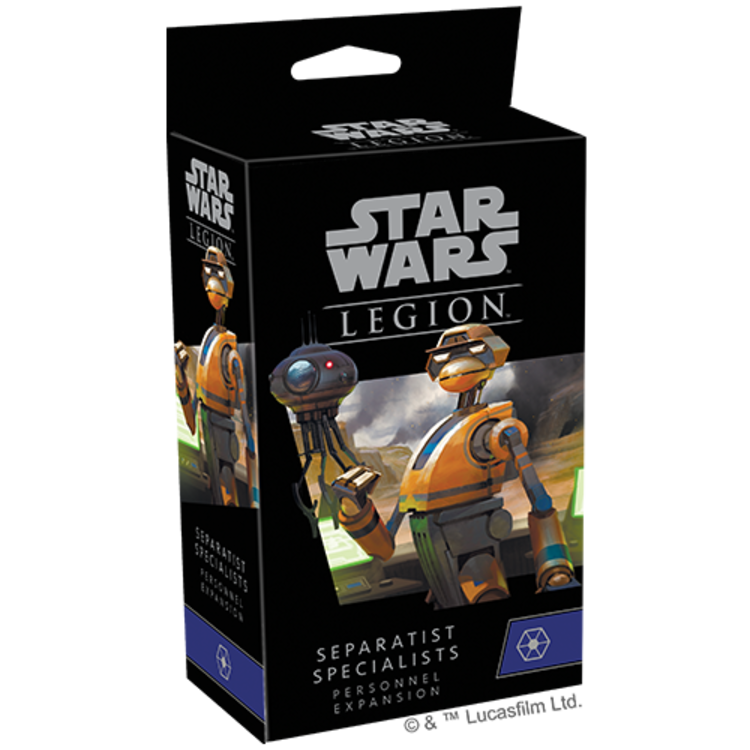 Fantasy Flight Games Star Wars Legion: Separatist Specialist Personnel Expansion