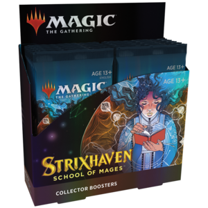 Wizards of the Coast Magic the Gathering: Strixhaven - Collector Booster Box