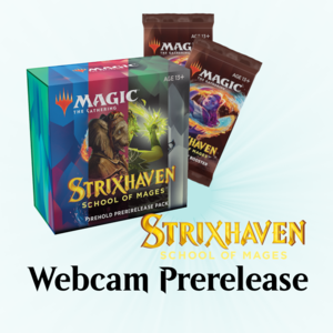 Wizards of the Coast Magic the Gathering: Strixhaven - Webcam Prerelease (April 17)