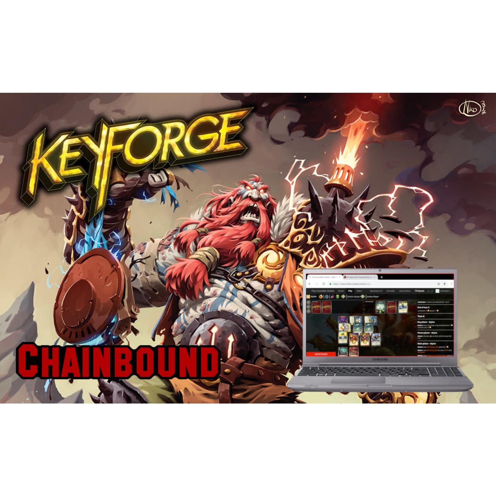Fair Game Admission: Keyforge Digital REVERSAL (April 1)