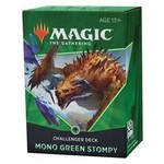 Wizards of the Coast Magic the Gathering: 2021 Challenger Deck: Mono Green Stompy
