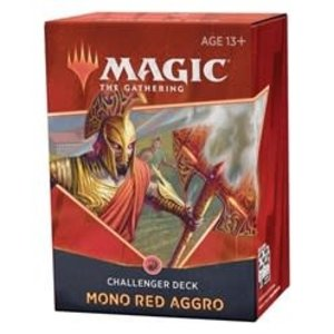 Wizards of the Coast Magic the Gathering: 2021 Challenger Deck: Mono Red Aggro