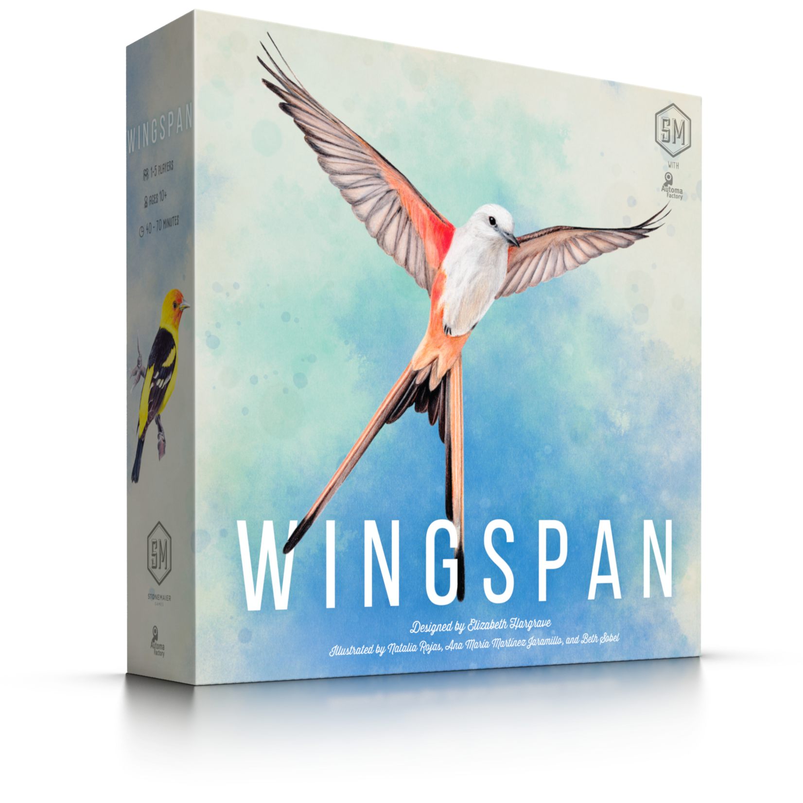 Stonemaier Games Wingspan (2nd Edition)