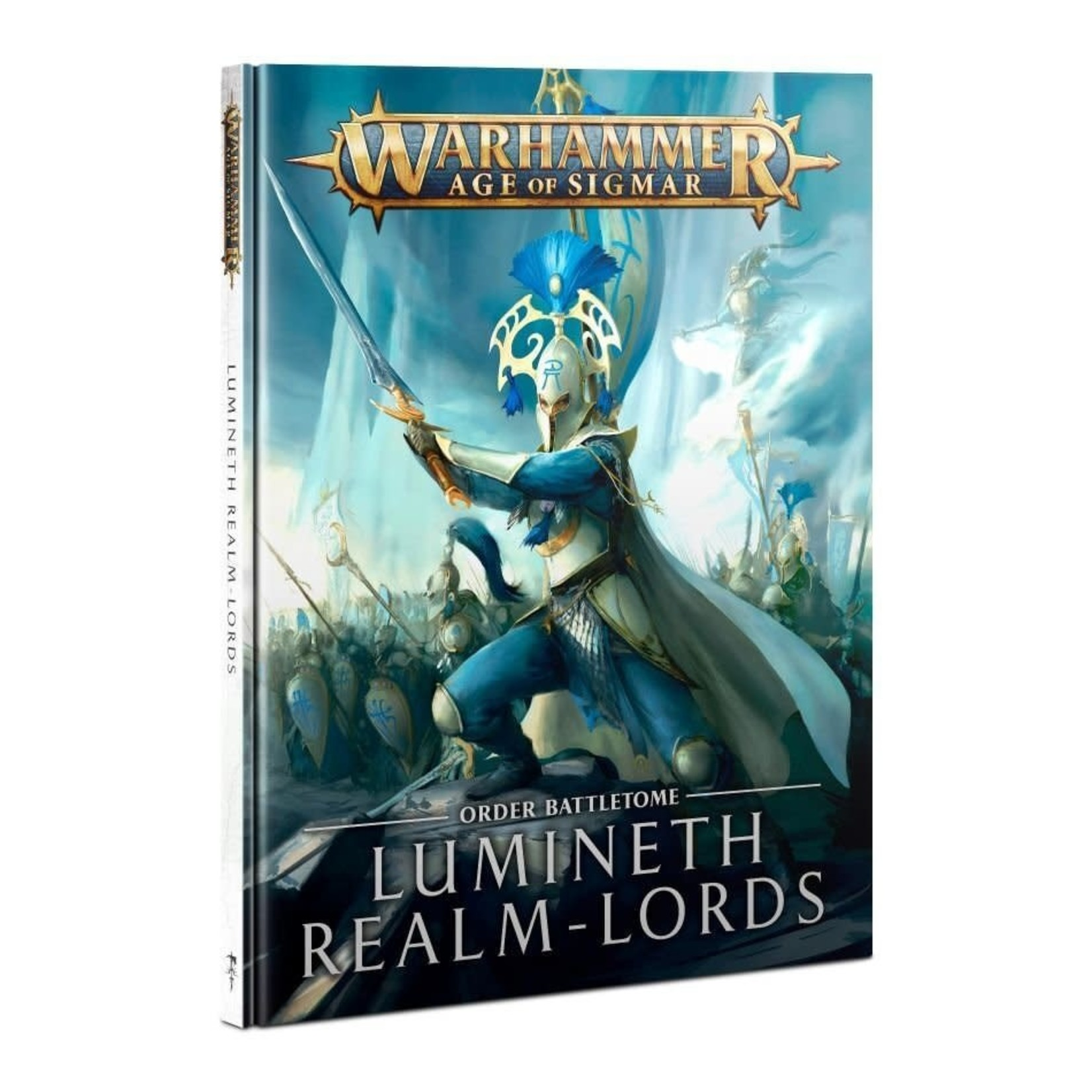 Games Workshop Warhammer Age of Sigmar: Battletome - Lumineth Realm-Lords (new 2021)