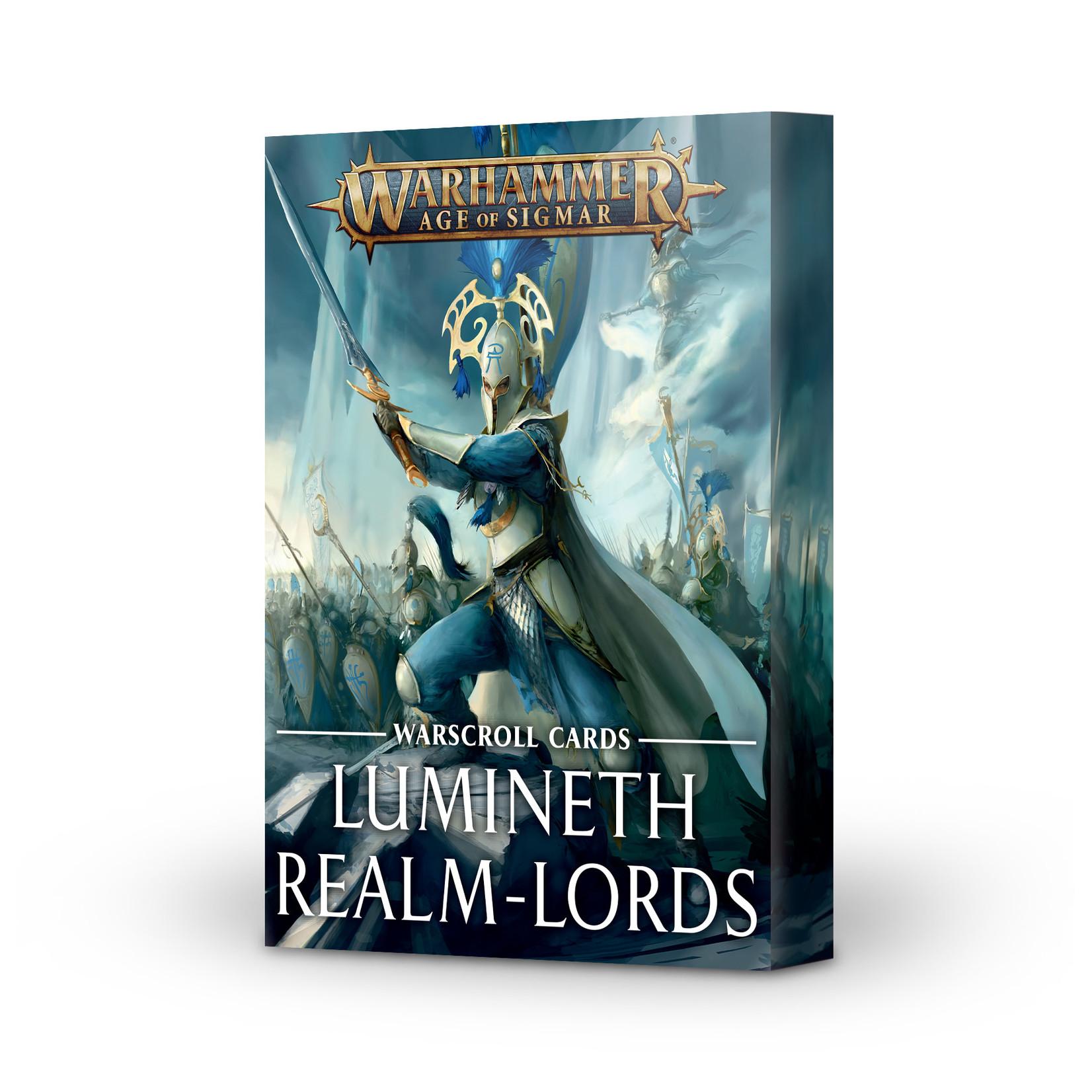 Games Workshop Warhammer Age of Sigmar: Lumineth Realm-Lords - Warscroll Cards