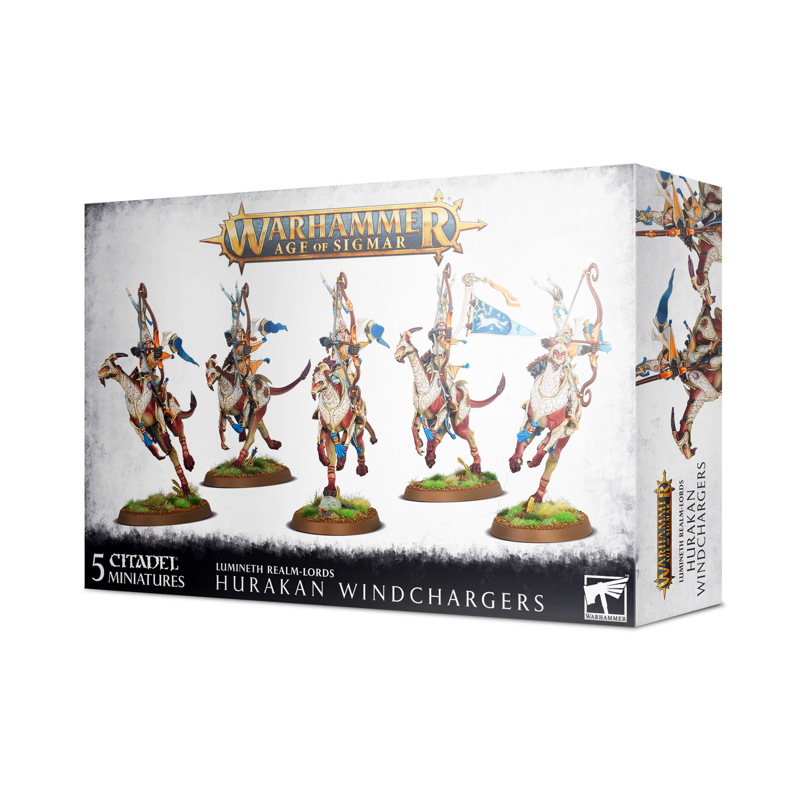 Games Workshop Warhammer Age of Sigmar: Lumineth Realm-Lords - Hurakan Windchargers