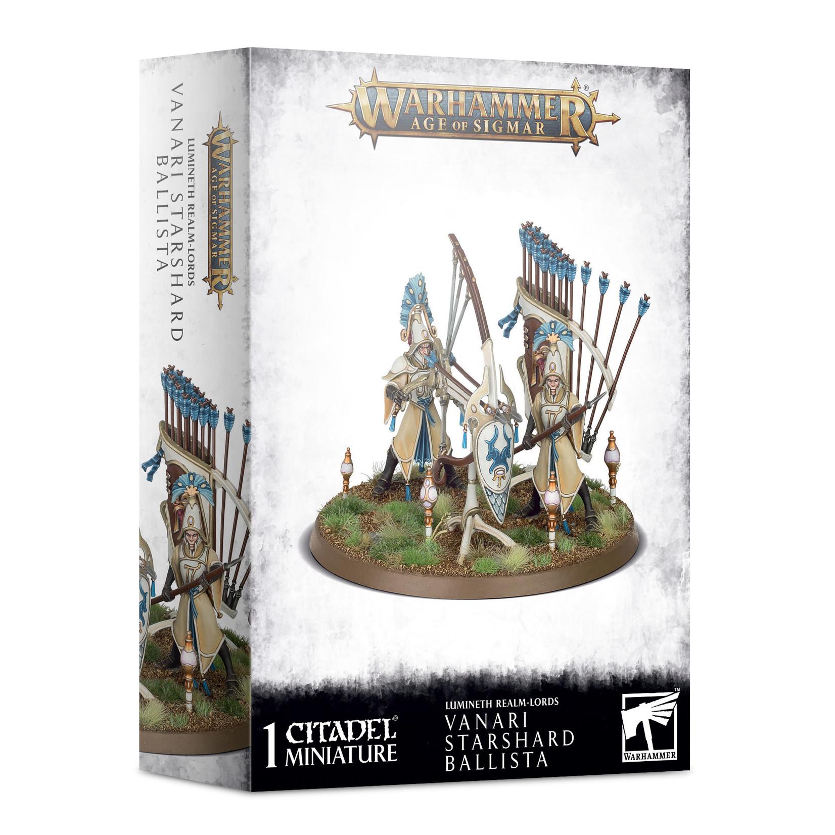 Games Workshop Warhammer Age of Sigmar: Lumineth Realm-Lords - Vanari Starshard Ballista