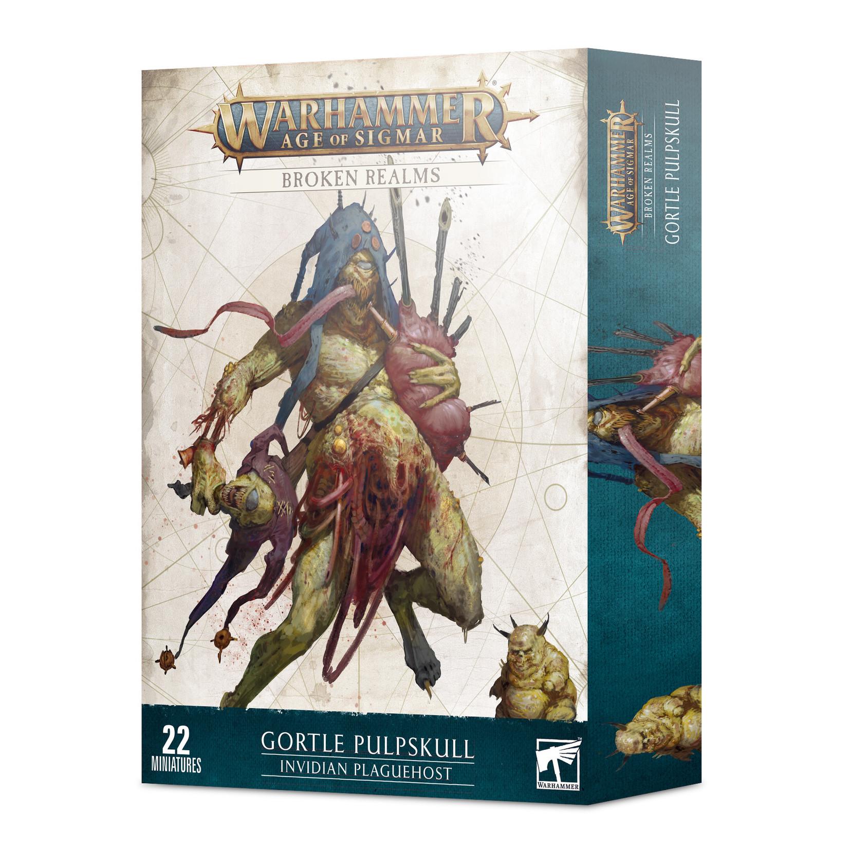 Games Workshop Warhammer Age of Sigmar: Broken Realms -  Invidian Plaguehost