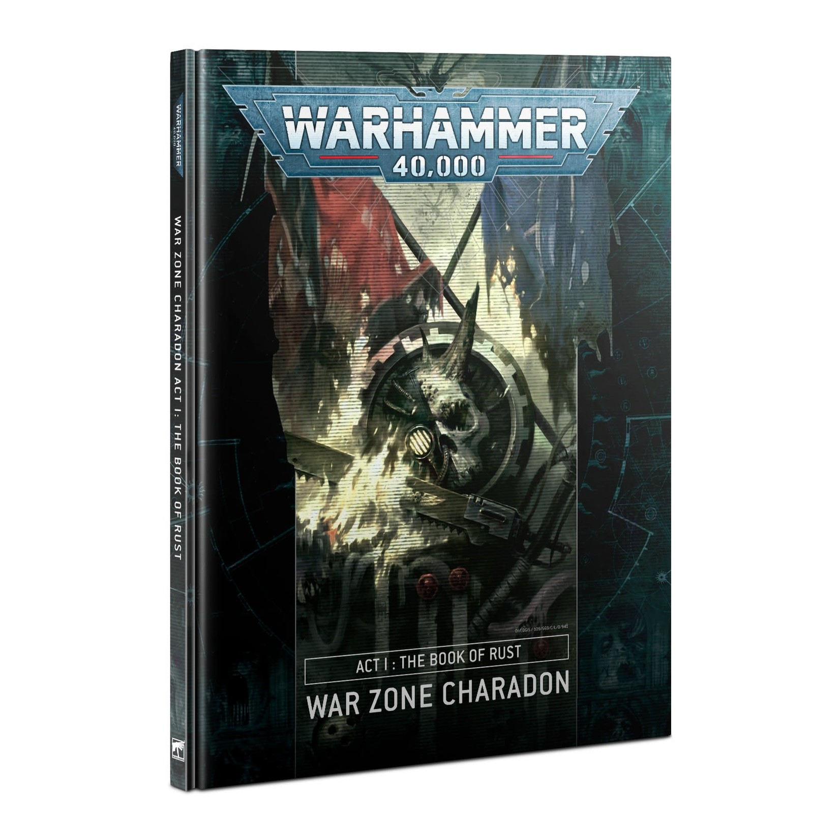 Games Workshop Warhammer 40k: War Zone Charadon - Act 1: The Book of Rust