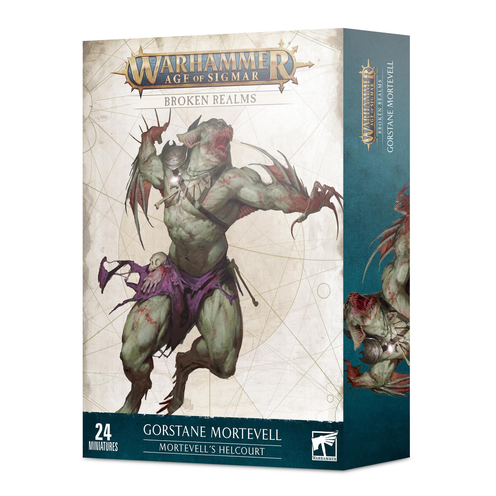 Games Workshop Warhammer Age of Sigmar: Broken Realms - Mortevell's Helcourt