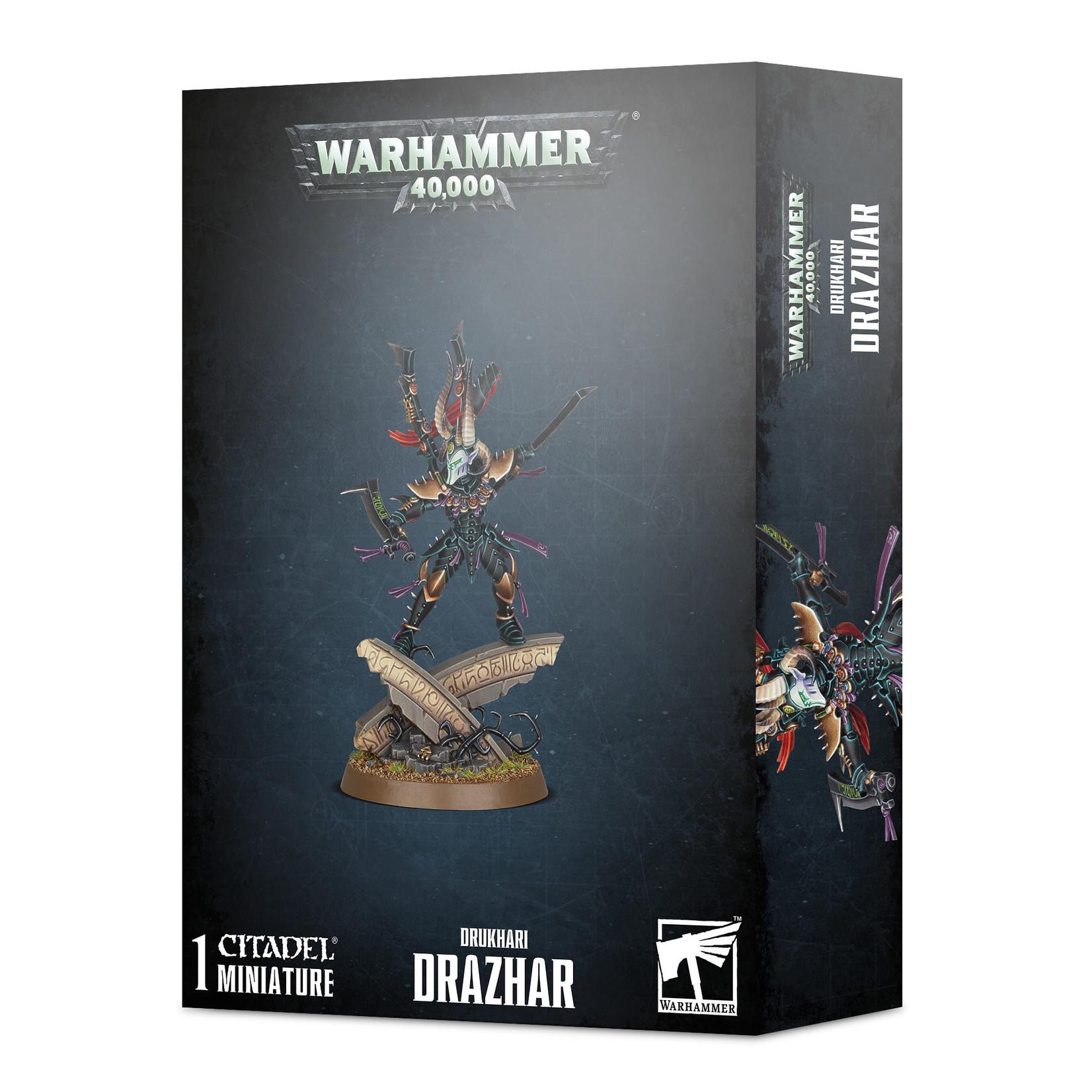Games Workshop Warhammer 40k: Druhkari - Drazhar