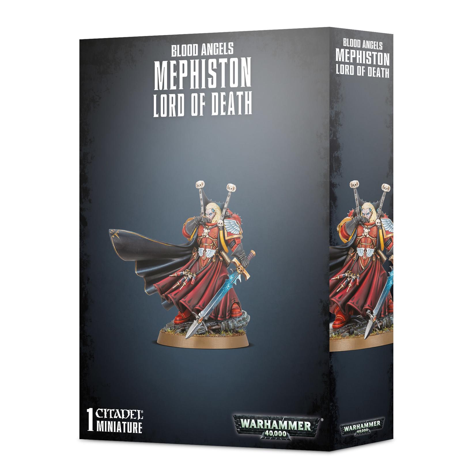 Games Workshop Warhammer 40k: Blood Angels - Mephiston, Lord of Death