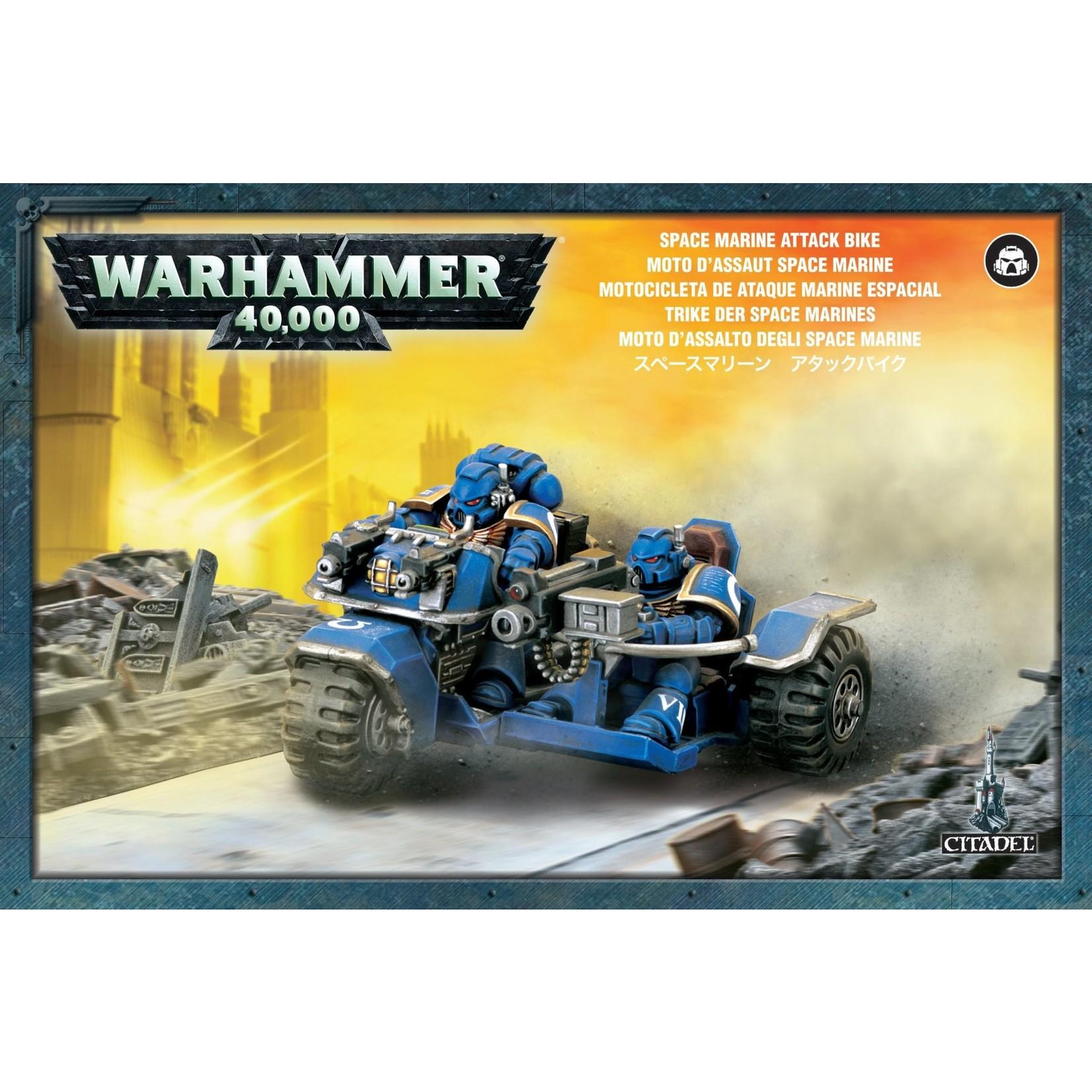 Games Workshop Warhammer 40k: Space Marines - Attack Bike