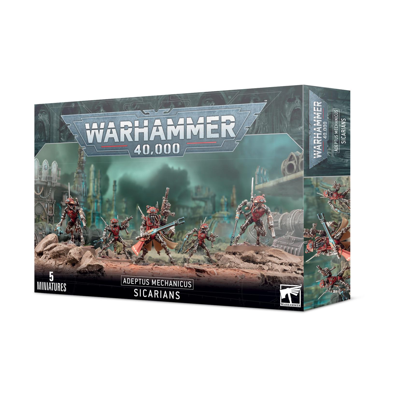 Games Workshop Warhammer 40k: Adeptus Mechanicus - Sicarians