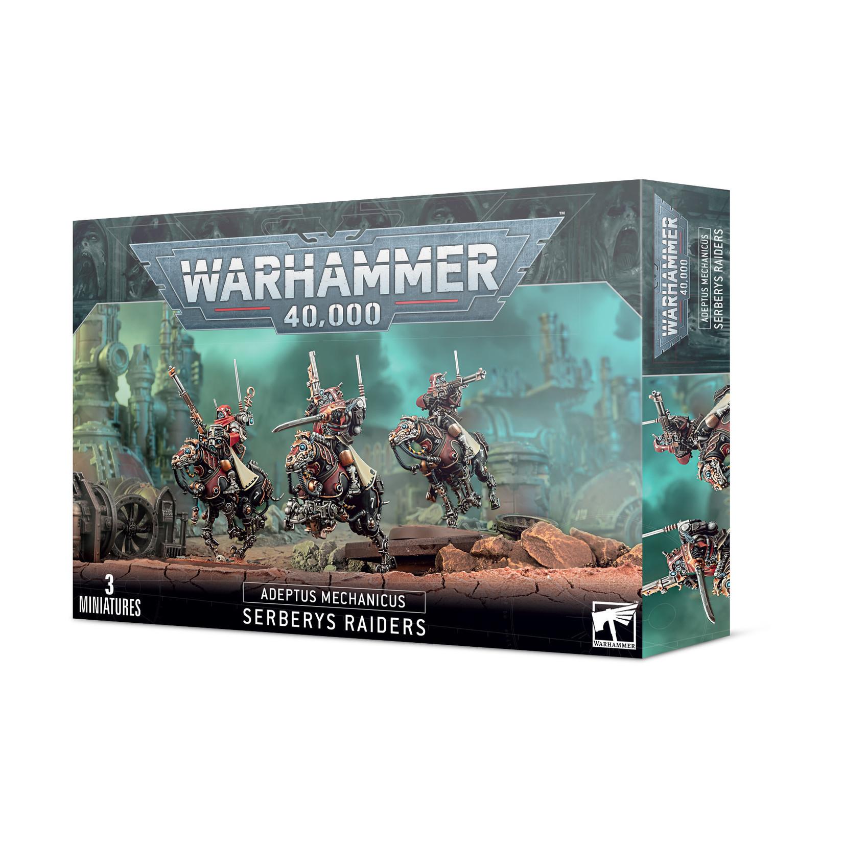 Games Workshop Warhammer 40k: Adeptus Mechanicus - Serberys Raiders