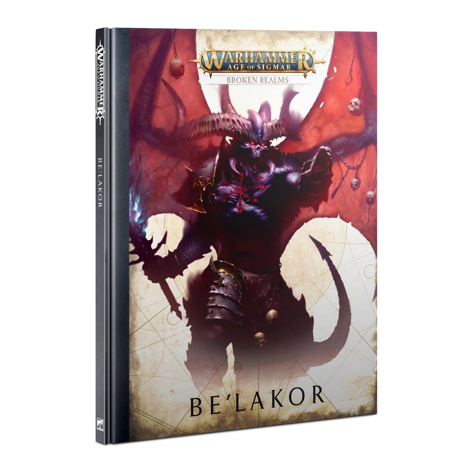 Games Workshop Warhammer Age of Sigmar: Broken Realms - Be'lakor [HB]