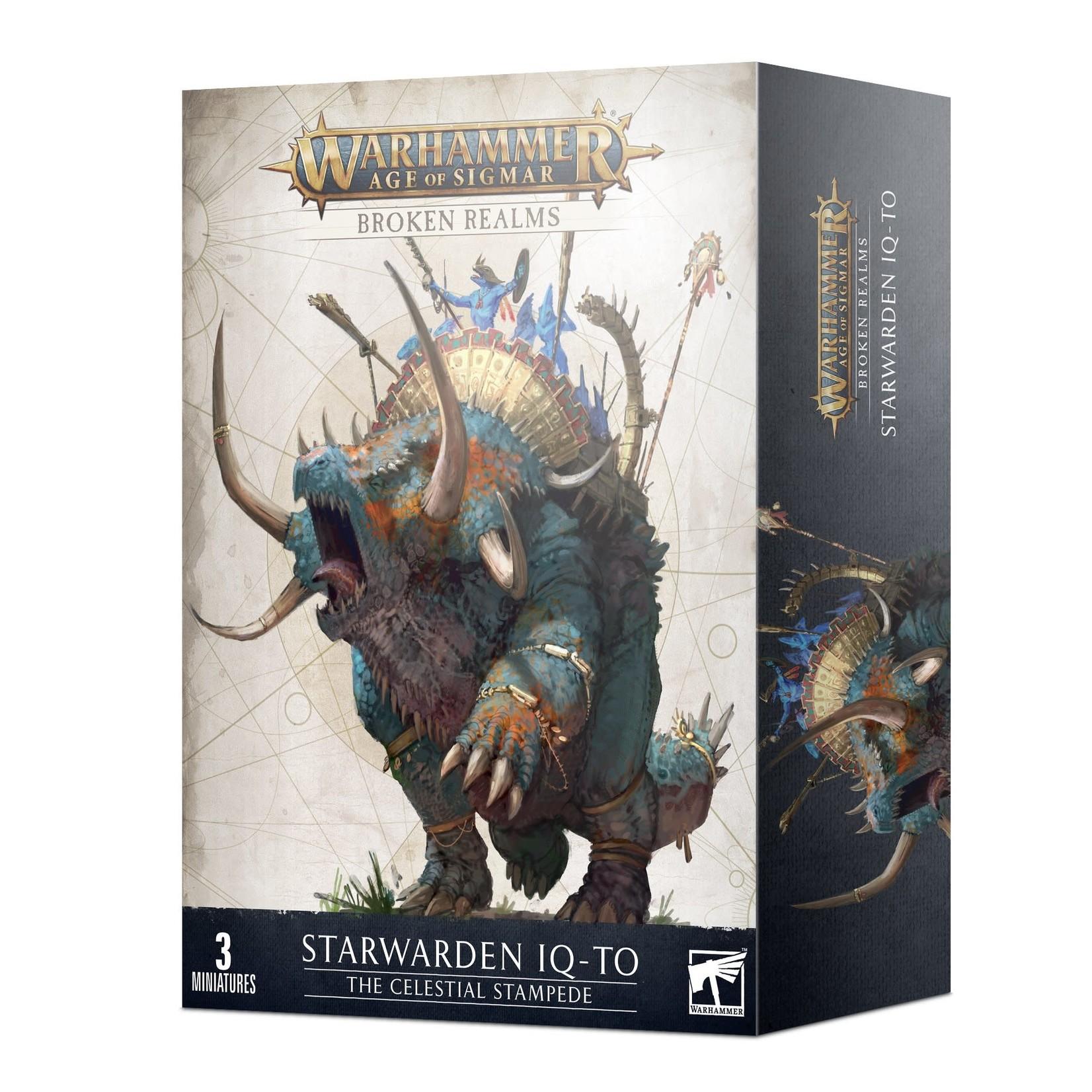 Games Workshop Warhammer Age of Sigmar: Broken Realms - The Celestial Stampede