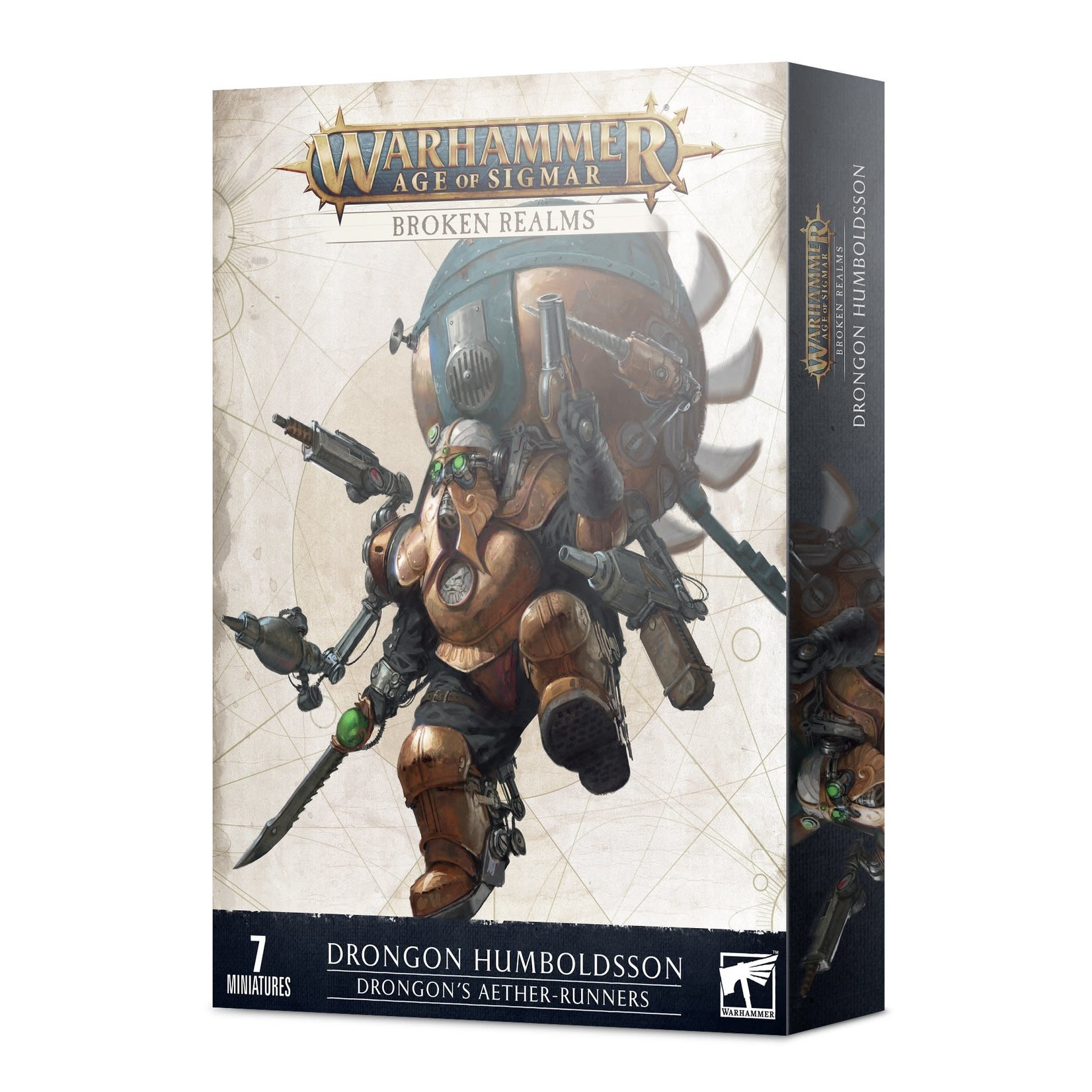 Games Workshop Warhammer Age of Sigmar: Broken Realms - Drongon's Aether-Runners