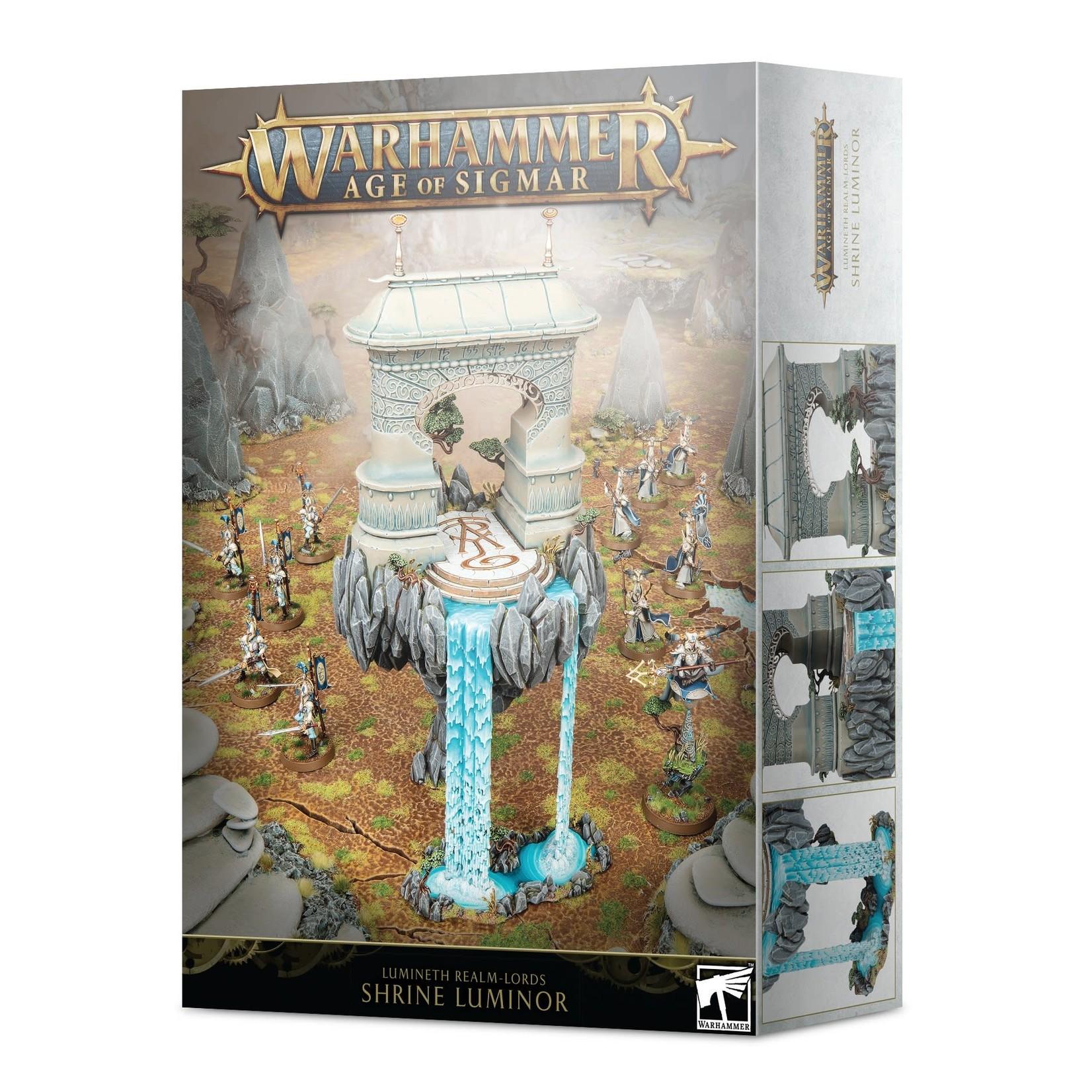 Games Workshop Warhammer Age of Sigmar: Lumineth Realm-Lords - Shrine Luminor