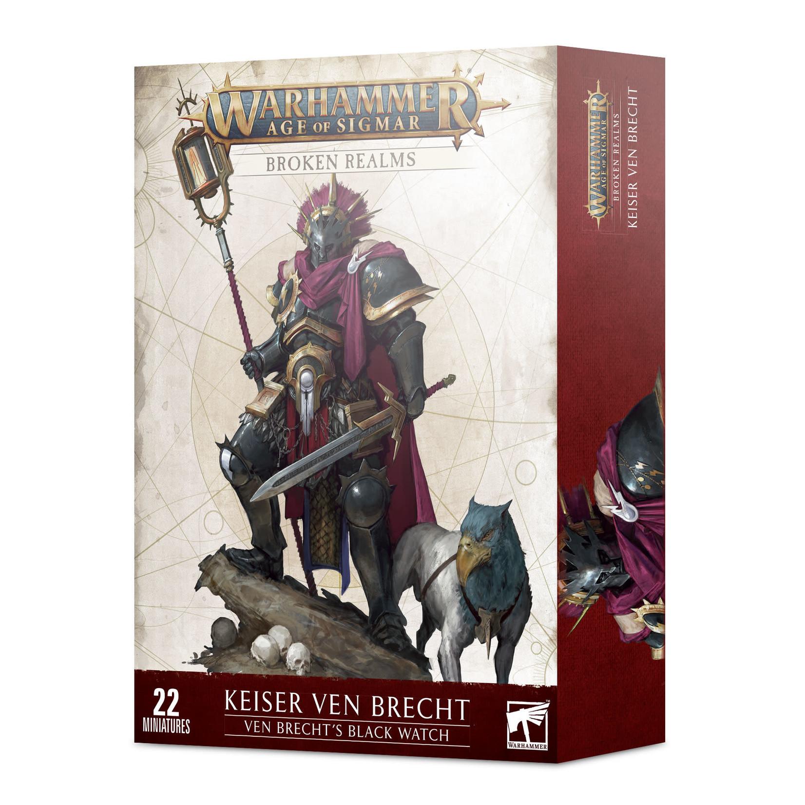 Games Workshop Warhammer Age of Sigmar: Broken Realms - Ven Brecht's Black Watch