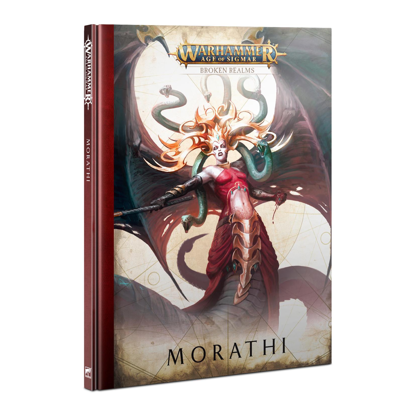 Games Workshop Warhammer Age of Sigmar: Broken Realms - Morathi [HB]