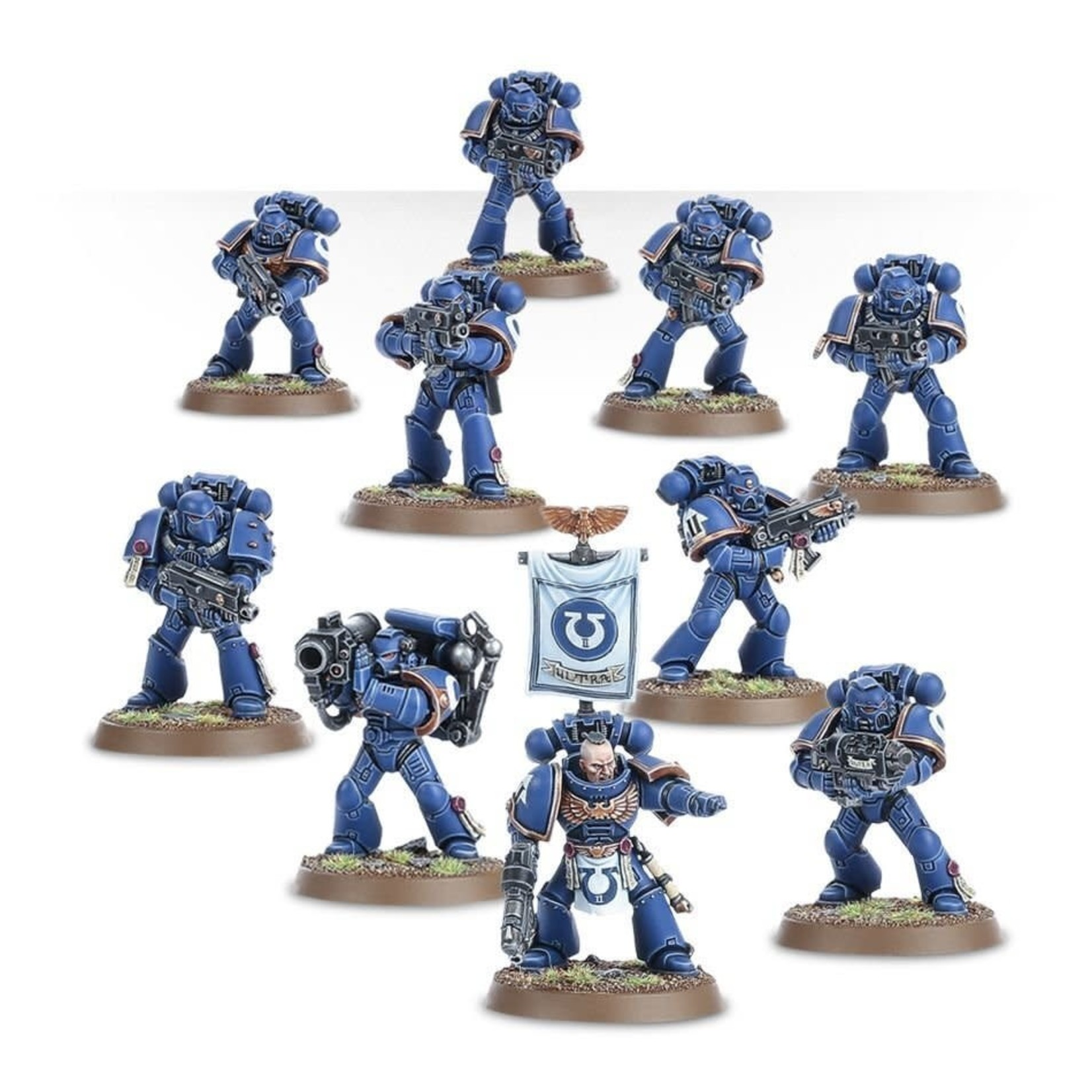 Games Workshop Warhammer 40k: Space Marines - Tactical Squad